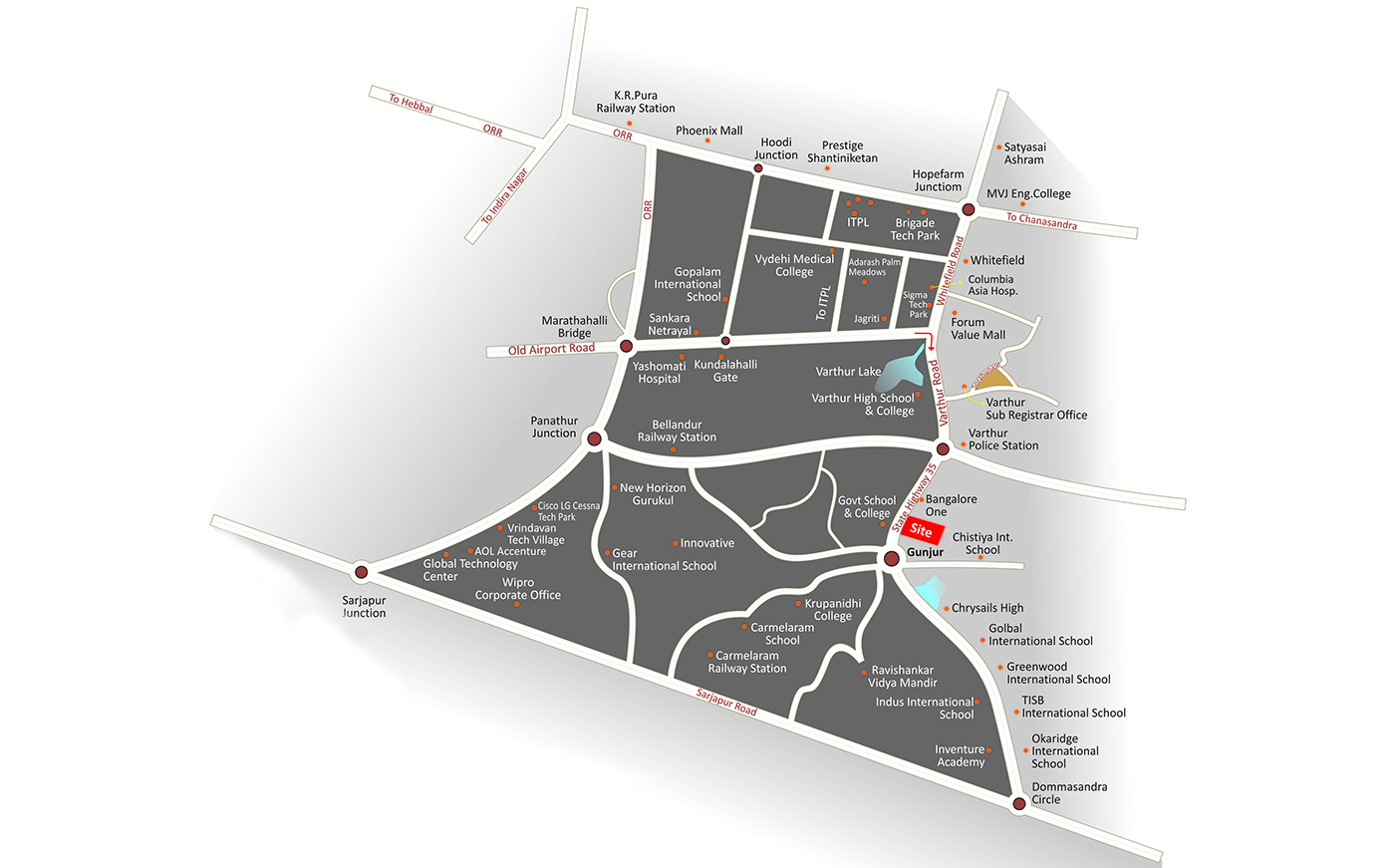 Candeur Landmark | Luxury 2, 2 5 & 3 BHK Flats/Apartments